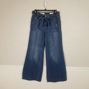 Anthro Pilcro & the Letterpress Wide Leg Jeans 27